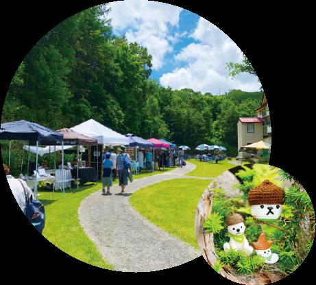 グリーンシーズン6月のイベント:新緑のクラフトフェアin志賀高原