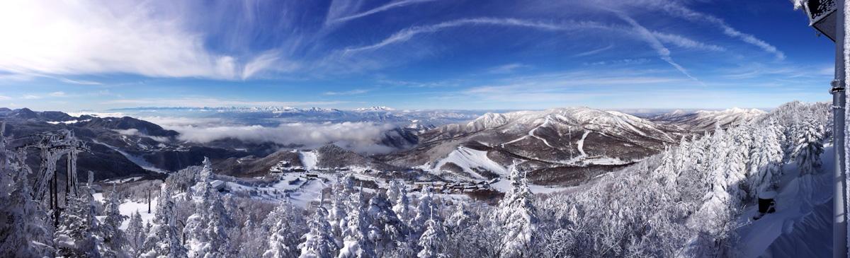 標高2,000mの絶景